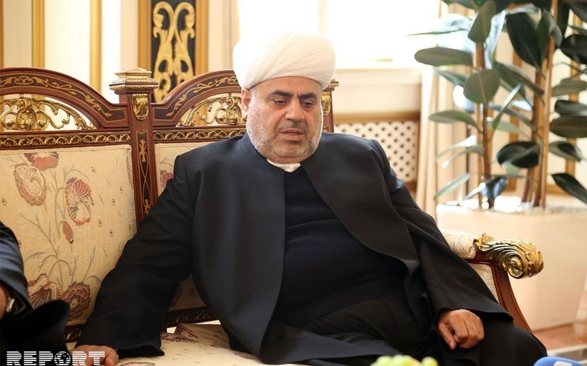 Шейхульислам Аллахшукюр Пашазаде: Самое большое наше горе - это Карабах