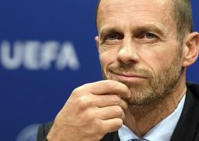 UEFA prezidenti qurumun gəlirlərinin azalması fonunda maaşını artırıb