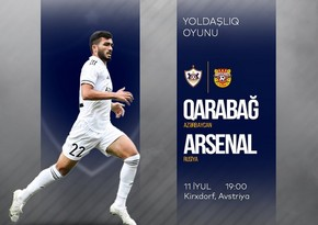 Qarabag to face Arsenal in test match