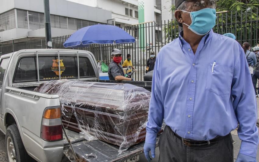Kolumbiyada COVID-19-a yoluxanların sayı 345 mini keçdi