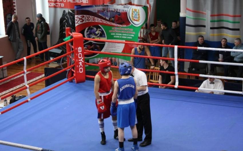 Azərbaycan boksçuları Qomeldən 4 qızıl, 2 gümüş medalla qayıdırlar