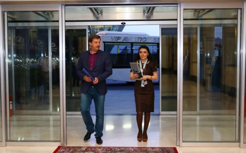Deputy Chairman of Latvian Parliament arrives in Baku