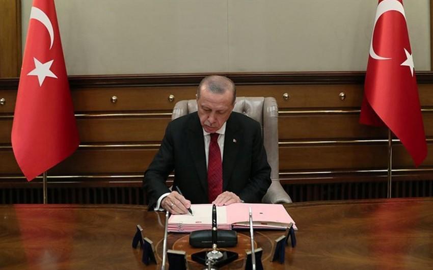 Эрдоган утвердил соглашение о сотрудничестве с Азербайджаном в сфере торговли
