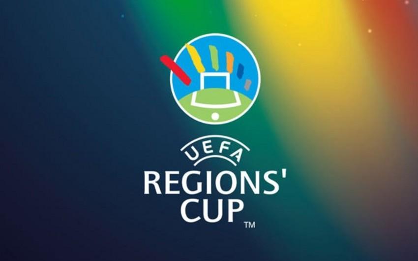 UEFA Region kubokunun püşkü atılıb