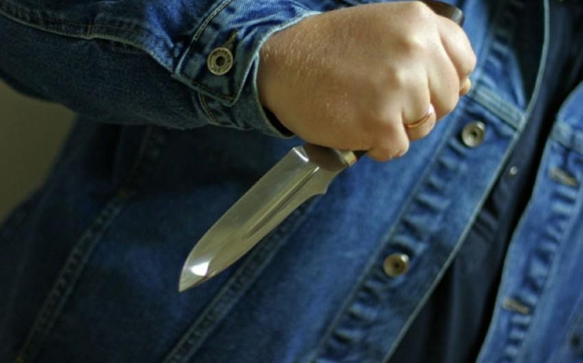 Bakıda 31 yaşlı kişi bıçaqlanıb