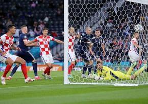 AVRO-2020: İngiltərə, Xorvatiya və Çexiya yığmaları 1/8 finalda