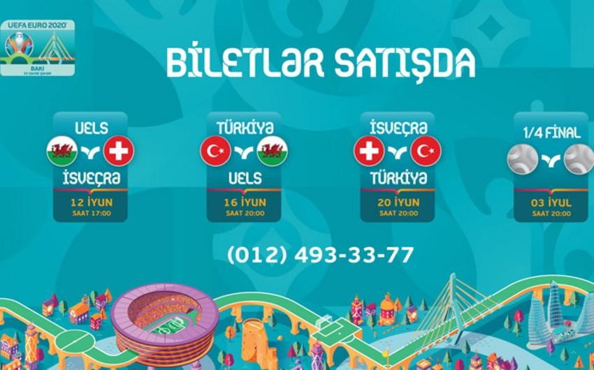 ЕВРО-2020: Билеты на игры в Баку скоро поступят в продажу