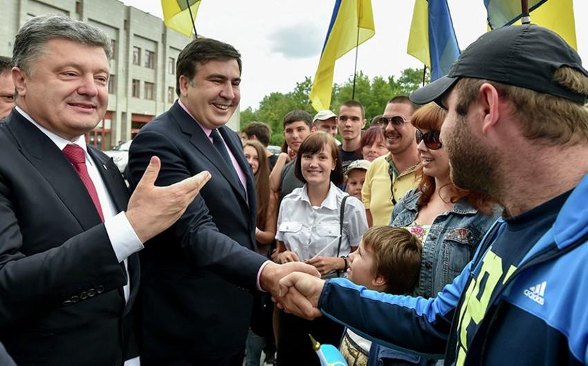 Saakaşvili Poroşenko ilə razılığa gəlməyin zəruri olduğunu bildirib