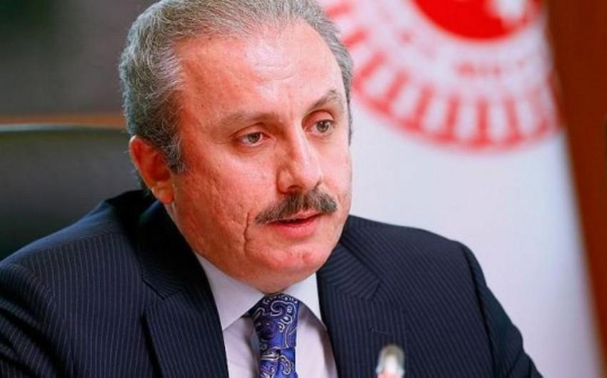 Мустафа Шентоп переизбран на пост председателя парламента Турции