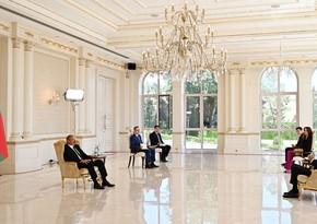 Президент Азербайджана о работе итальянских компаний на освобожденных землях