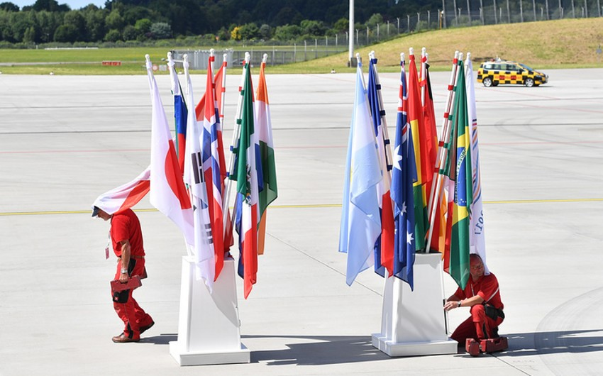 Bu gün Hamburqda G20 sammitinin açılışı olacaq