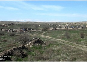 Видеокадры из села Седи Джебраильского района