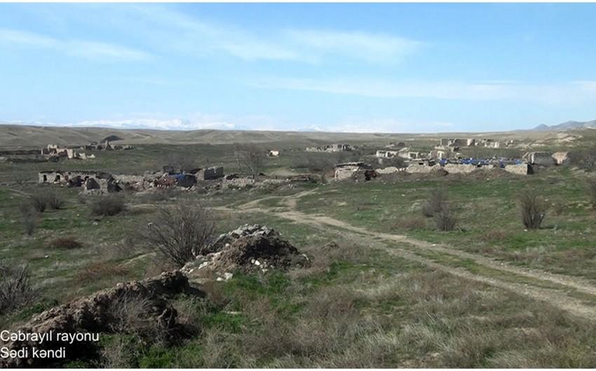 Footage of Sedi village of Jabrayil