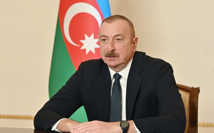 Prezident Bakı və Tbilisi arasında Qardaşlaşma haqqında Memorandumdan danışdı