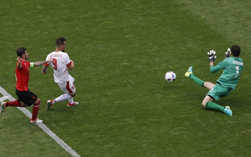 AVRO-2016: İsveçrə Albaniya millisini məğlub edib - VİDEO