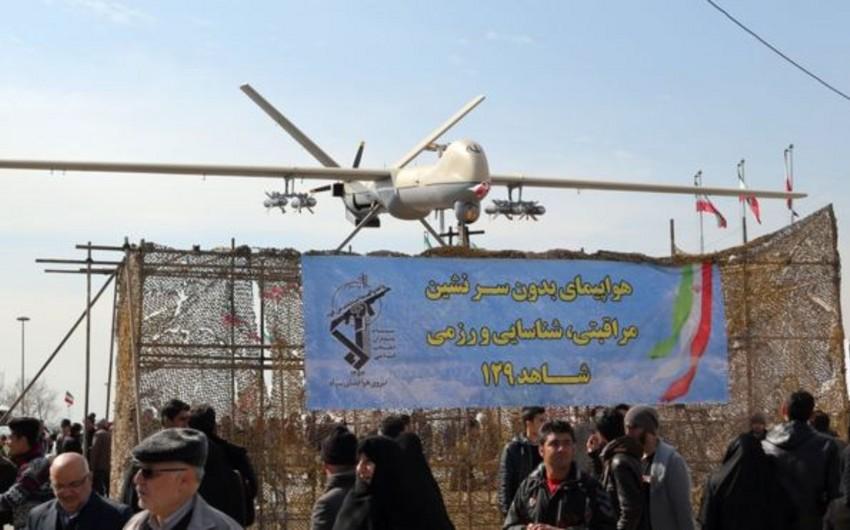 Suriyada İran istehsalı olan pilotsuz təyyarə vurulub