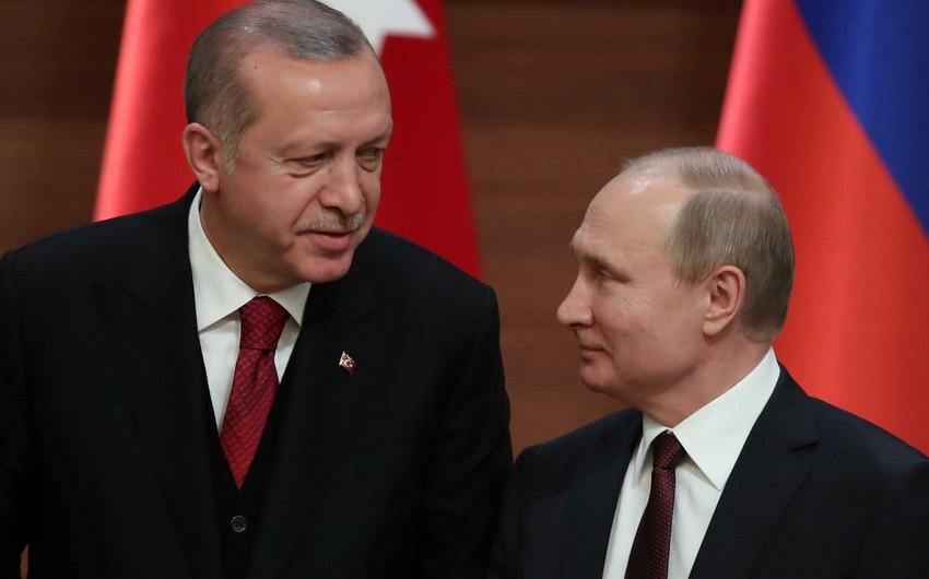 Türkiyə və Rusiya prezidentləri arasında görüş başa çatıb - YENİLƏNİB