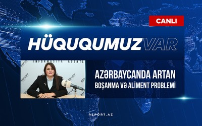 Azərbaycanda boşanma və aliment problemi - VİDEO