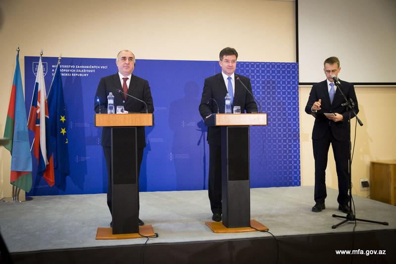 Словакия уважает территориальную целостность Азербайджана