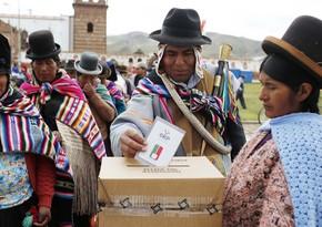Boliviyada prezident və parlament seçkiləri başa çatıb