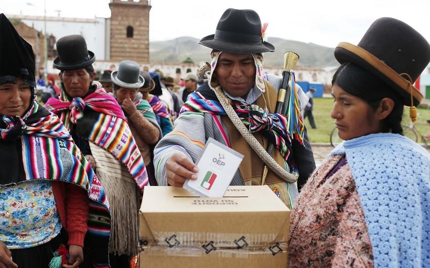В Боливии завершилось голосование на выборах