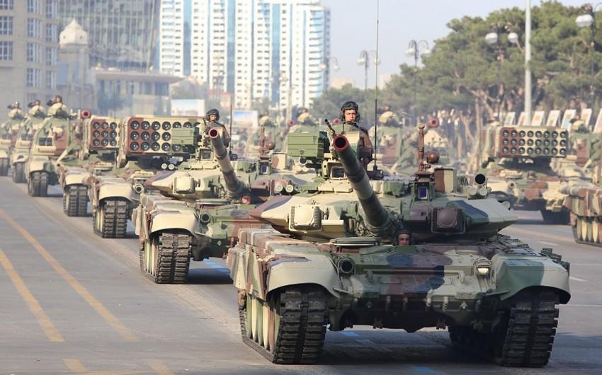 Bloomberg: Azərbaycan son on ildə silahlanmaya 22,7 milyard dollar xərcləyib