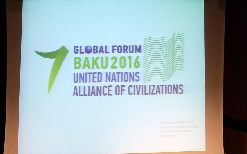 Bakıda keçiriləcək BMT Sivilizasiyalar Alyansının 7-ci Qlobal Forumunun loqotipi təqdim olunub