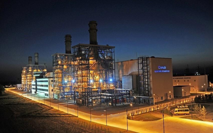 """""""Azərenerji"""" """"Cənub"""" Elektrik Stansiyasının istehsal gücünü artırıb"""