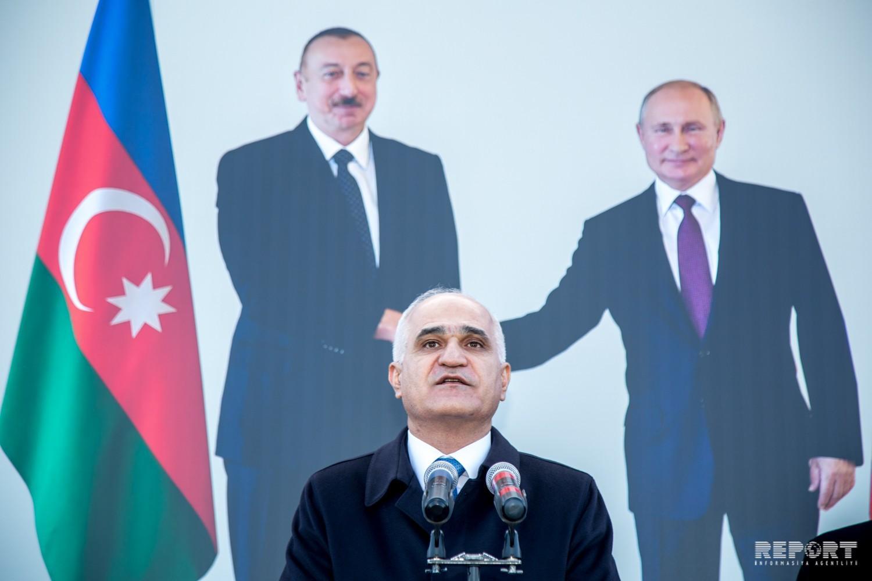 Вице-премьер: В скором времени откроется новая автомагистраль из Баку до российской границы