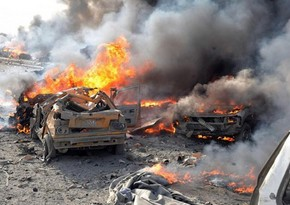 В Ереване в туннеле взорвался автомобиль