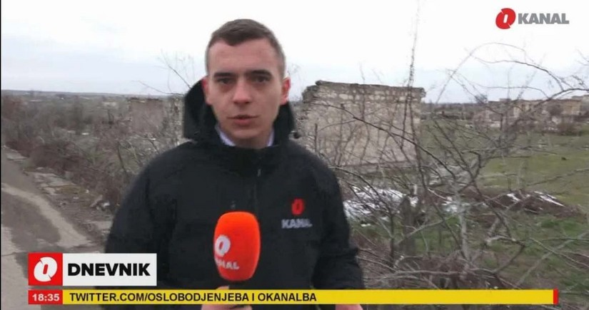 Боснийский телеканал O Kanal подготовил репортаж из Агдама
