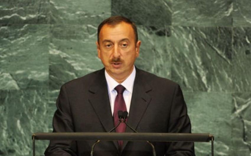 Sabah Azərbaycan Prezidenti BMT Baş Assambleyasında çıxış edəcək