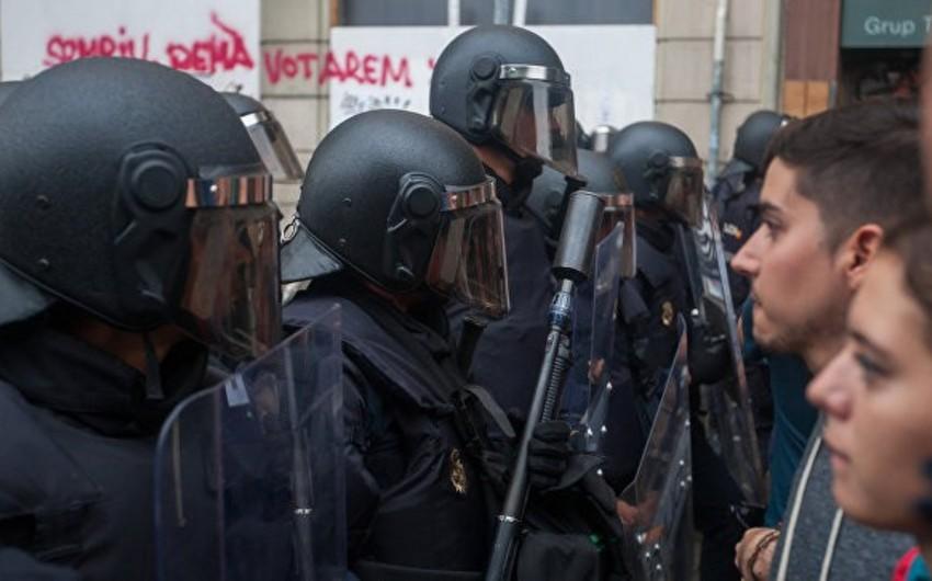 В Барселоне произошли столкновения накануне годовщины референдума