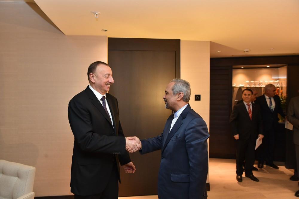 Ильхам Алиев поздравил иранский народ по случаю отмены санкций