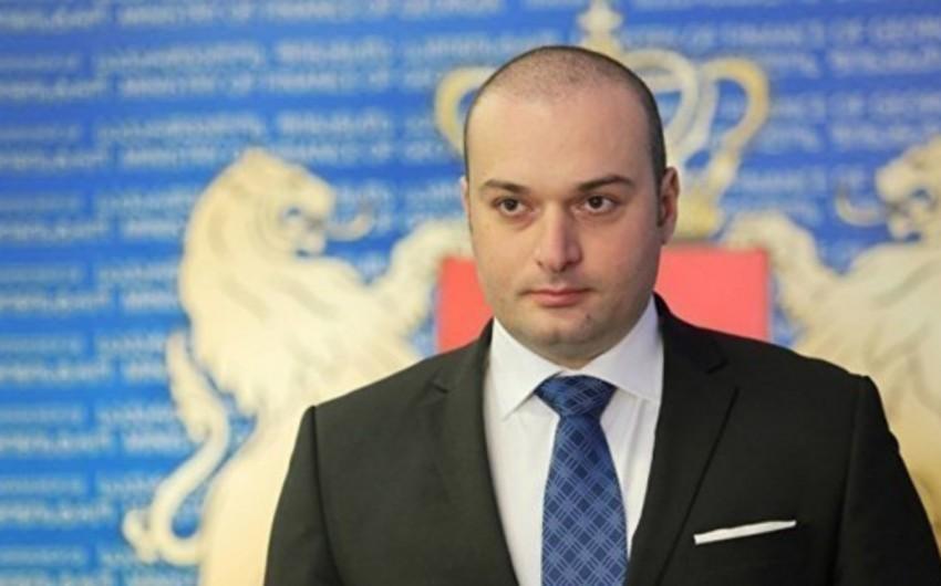 """Baş nazir: """"Gürcüstan əhalisinin böyük hissəsi yoxsul vəziyyətdə yaşayır"""""""