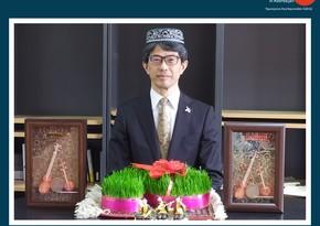 Посол Японии поздравил азербайджанский народ с праздником Новруз