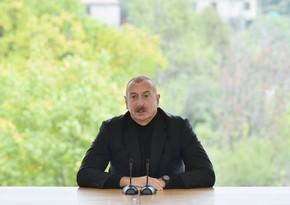 Prezident: Vejnəli qızıl yatağının qanunsuz istismarında iştirak edən xarici şirkətlərin məhkəməyə verilməsi prosesinə start verilib