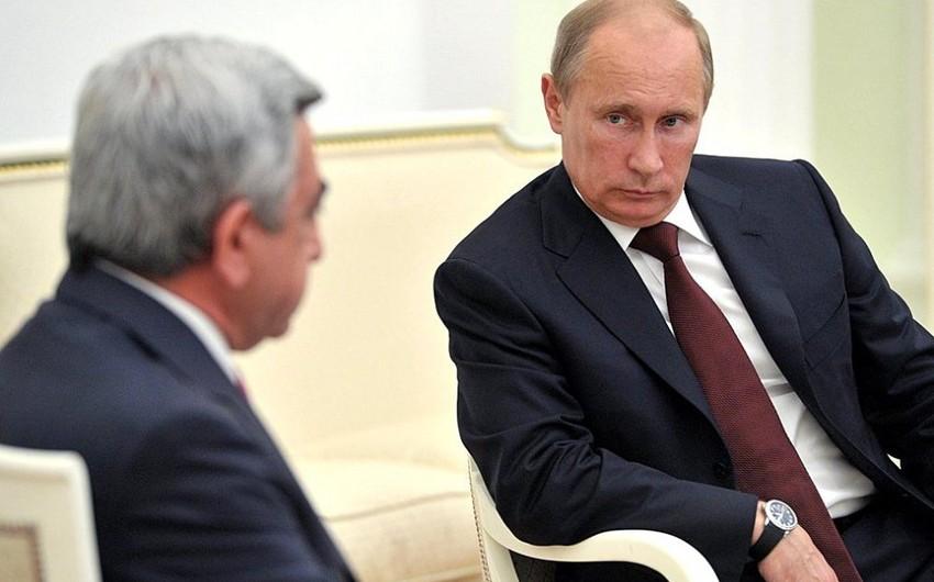 В Санкт-Петербурге проходит встреча президентов России и Армении