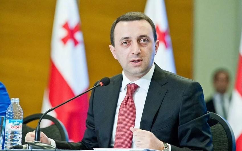 Gürcüstanın baş naziri Azərbaycanın addımını alqışladı