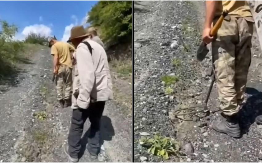 Известный фотограф Реза Дегати едва не подорвался на мине в Кельбаджаре