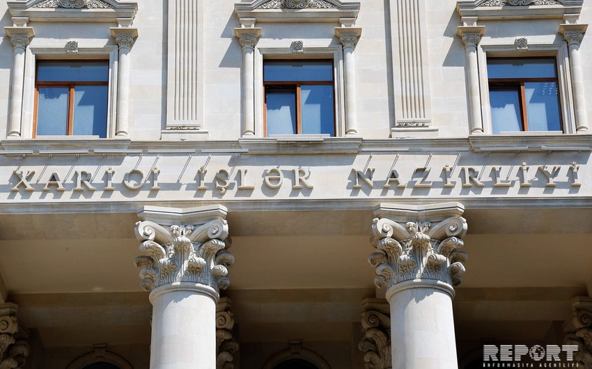 XİN: Yararsız şərhlər Ermənistanın münaqişənin sülh yolu ilə həlli çağırışına kömək etmir