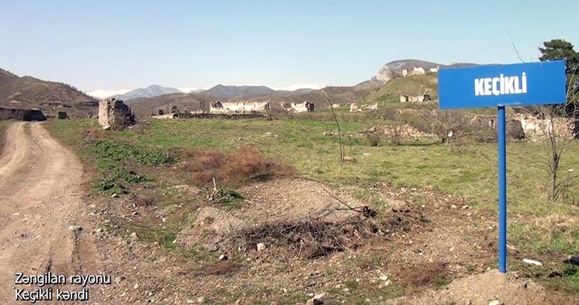 Zəngilanın Keçikli kəndi