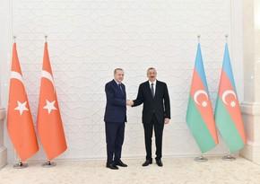 Ильхам Алиев направил письмо Реджепу Эрдогану