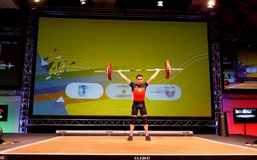Azərbaycanın yeniyetmə atleti Avropa birinciliyinin qalibi olub