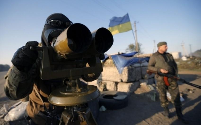 Son 24 saatda Ukraynanın 4 əsgəri öldürülüb