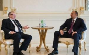 Azərbaycan prezidenti Rusiya Dövlət Dumasının deputatı Vladimir Jirinovskini qəbul edib