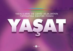 """""""YAŞAT""""Fonduna """"Hökumət Ödəniş Portalı"""" ilə ianə qəbulu imkanı yaradılıb"""
