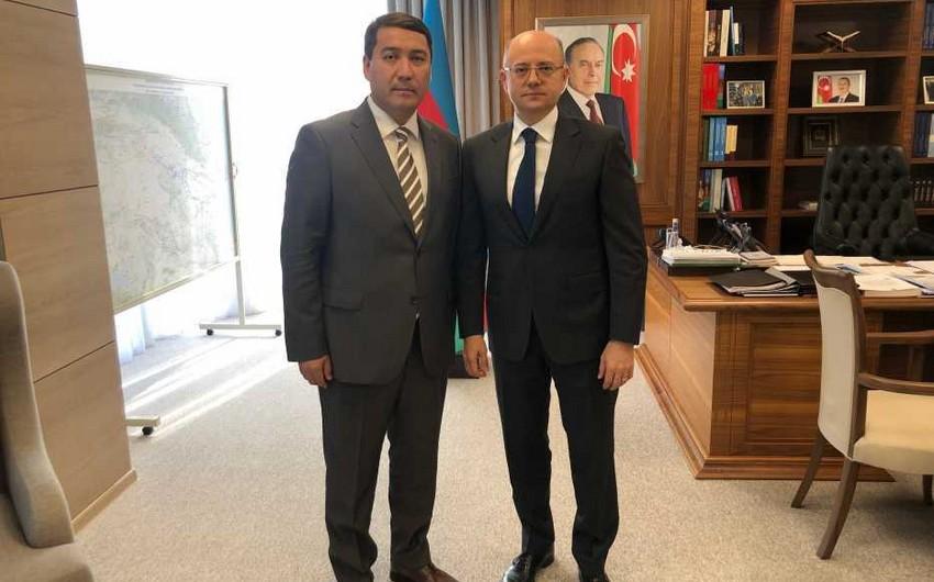 Azərbaycanla Qazaxıstan arasında enerji əməkdaşlığına dair müzakirələr aparılıb