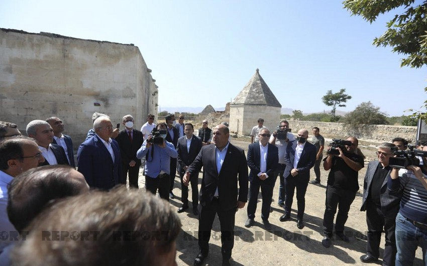 Reps of Turkic-speaking countries' ministries visiting Azerbaijan's Aghdam