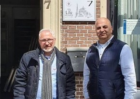 House of Azerbaijan in Netherlands repairs mosque